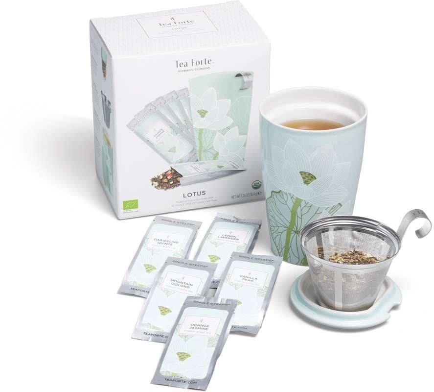 Coffret de thés Lotus BIO, Tea Forte
