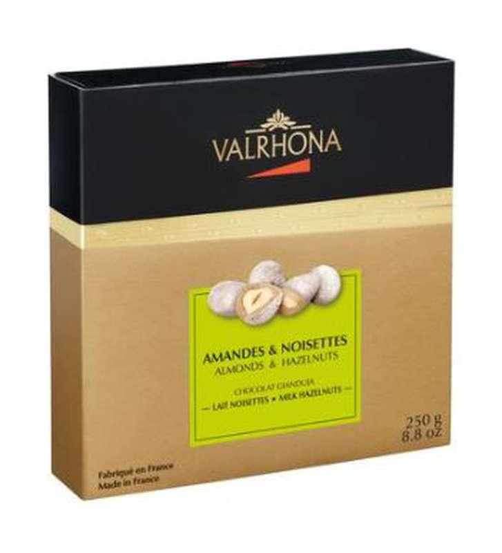 Coffret Equinoxe Amandes & Noisettes au chocolat Gianduja, Valrhona (250 g)