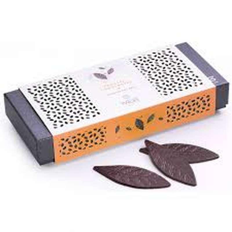 Coffret Feuilles craquantes chocolat noir, Weiss (230 g)