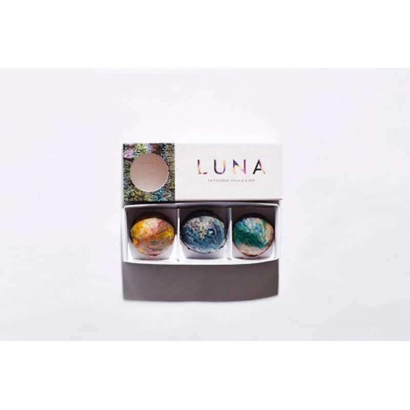 Coffret Marbrée Sans Gluten et Vegan, Luna Création (x 3, 60 g)