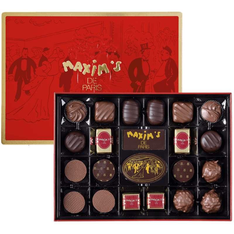 Coffret métal 22 chocolats, Maxim's (215 g)
