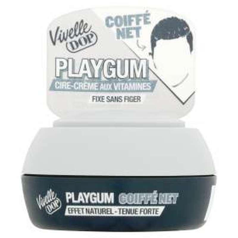 Cire coiffante Playgum coiffé net, Vivelle Dop (80 ml)