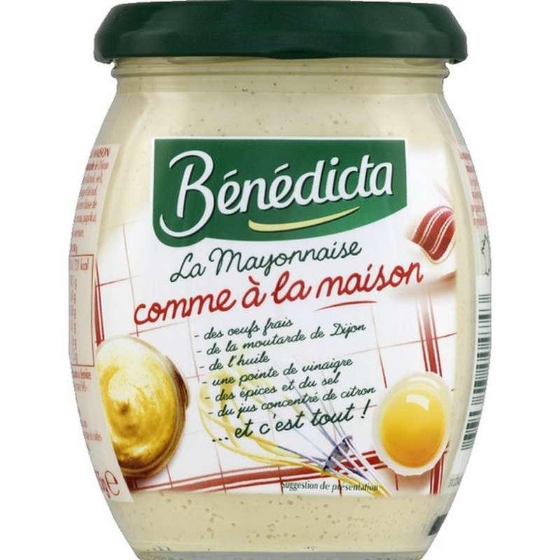 """Mayonnaise """"Comme à la maison"""", Bénédicta (255 g)"""