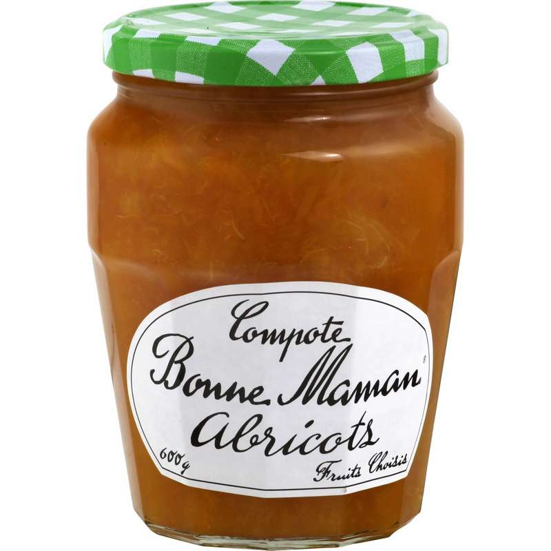 Compotée à l'abricot, Bonne Maman (600 g)