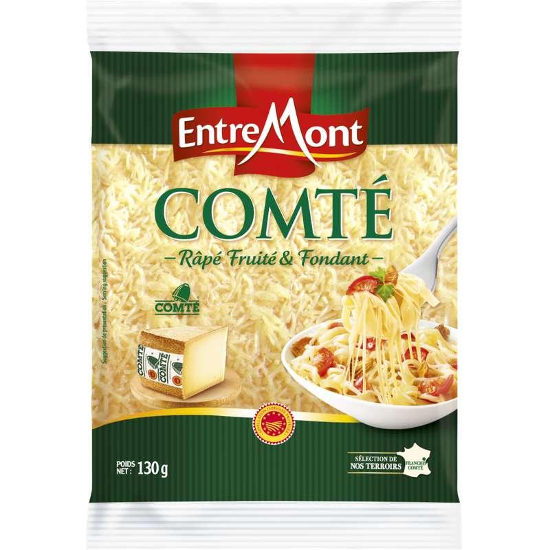 Comté AOP râpé, Entremont (130 g)