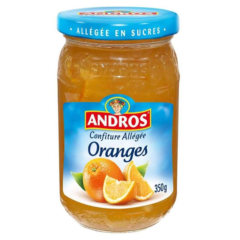 Confiture allégée aux oranges, Andros (350 g)