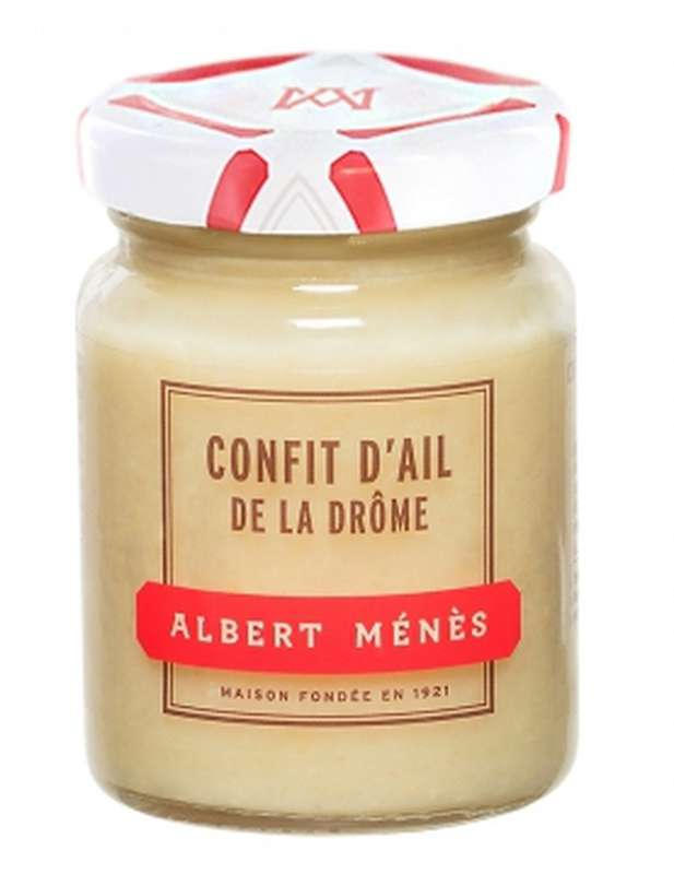 Confit d'ail de la Drôme, Albert Ménès (90 g)