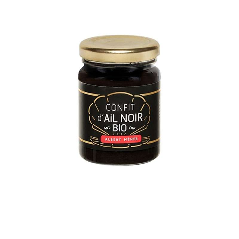 Confit d'ail noir BIO, Albert Ménès (90 g)