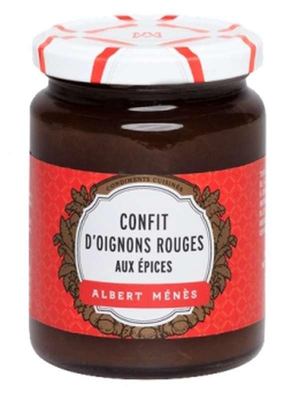 Confit d'oignons rouges aux épices, Albert Ménès (110 g)