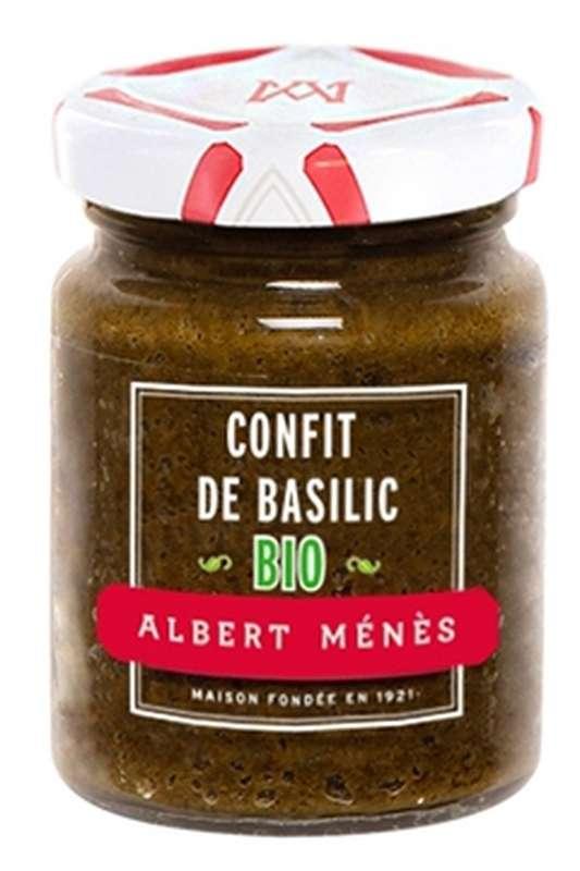 Confit de basilic BIO, Albert Ménès (90 g)