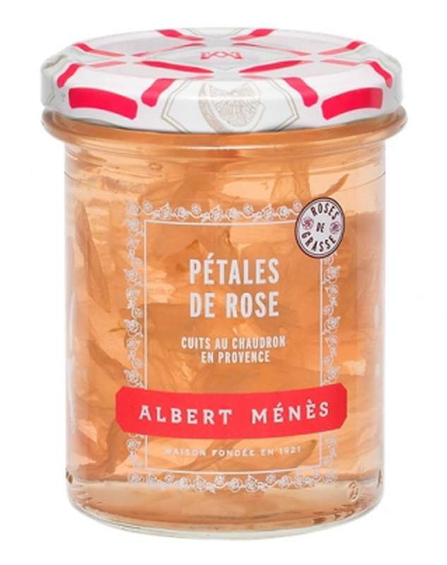 Confit de pétales de Rose de Provence, Albert Ménès (280 g)