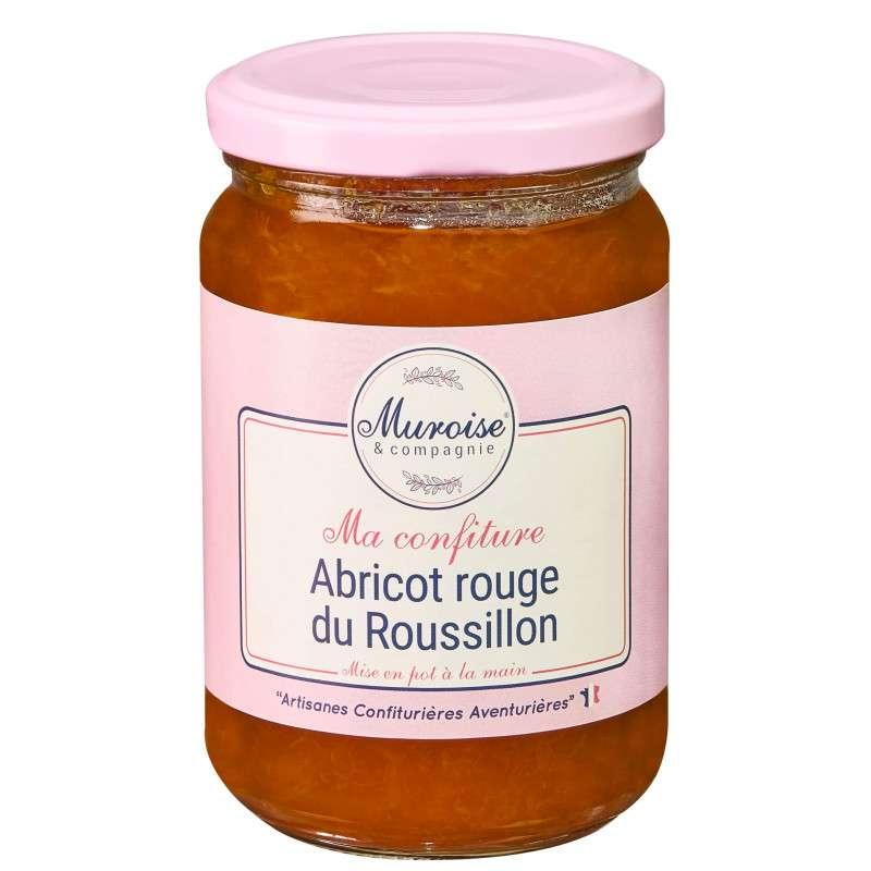 Confiture d'abricot rouge du Roussillon, Muroise (350 g)