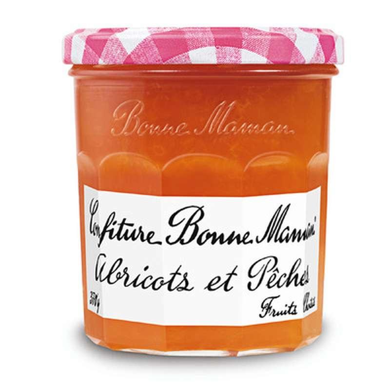 Confiture abricots et pêches, Bonne Maman (370 g)