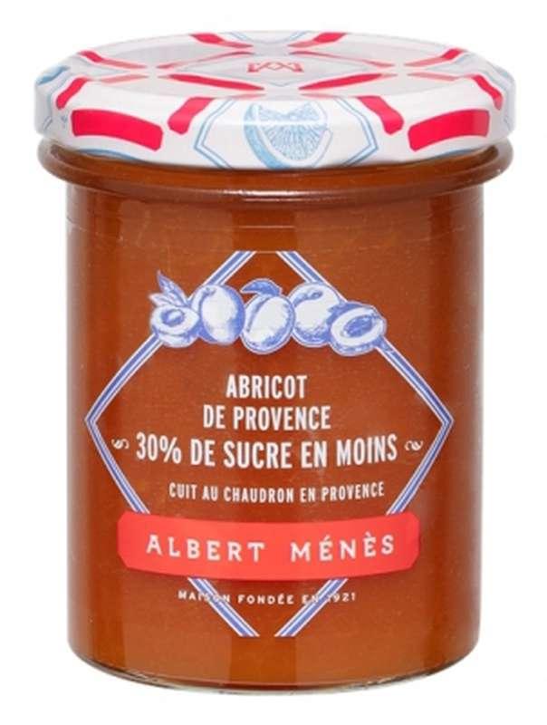 Confiture allégée d'Abricot de Provence, Albert Ménès (265 g)