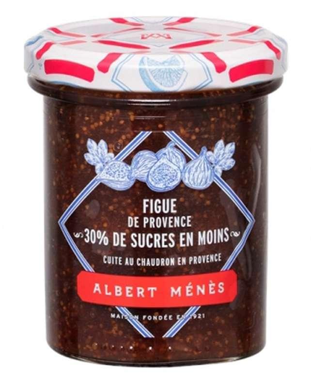 Confiture allégée de Figue de Provence, Albert Ménès (265 g)