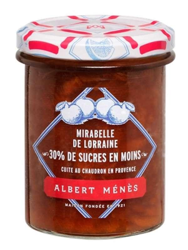 Confiture allégée de Mirabelle de Lorraine, Albert Ménès (265 g)
