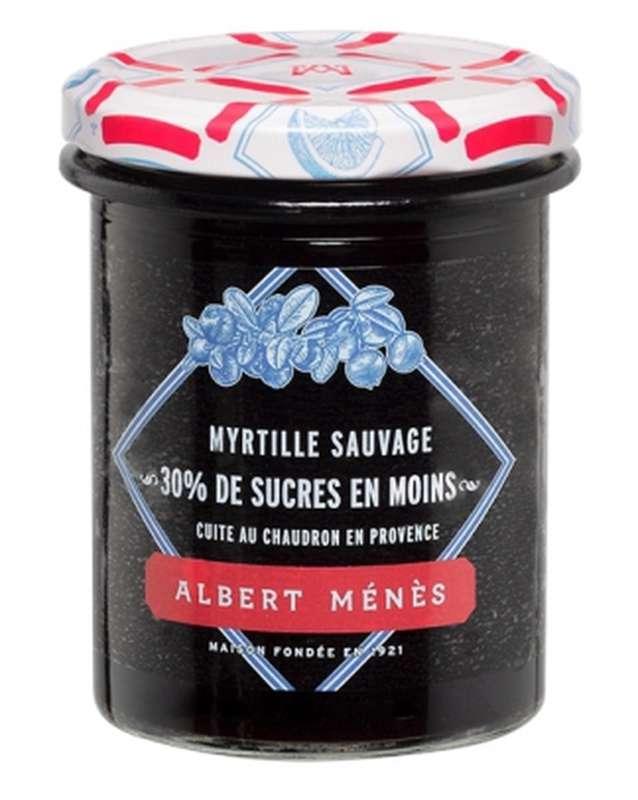 Confiture allégée de Myrtille sauvage, Albert Ménès (265 g)