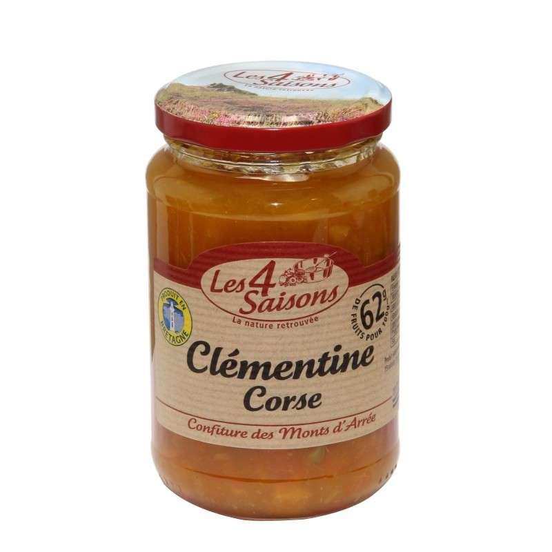 Confiture clémentine Corse, Les 4 saisons (400 g)