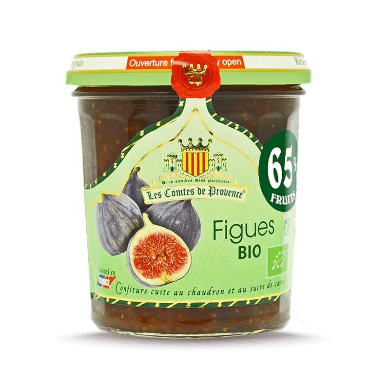 Confiture de figues sauvages BIO, Les Comtes de Provence (350 g)