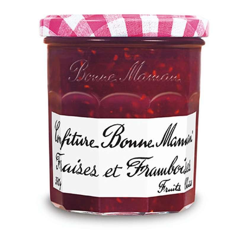 Confiture de fraises et framboises, Bonne Maman (370 g)