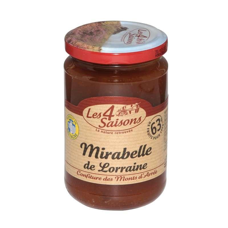 Confiture mirabelle, Les 4 saisons (360 g)
