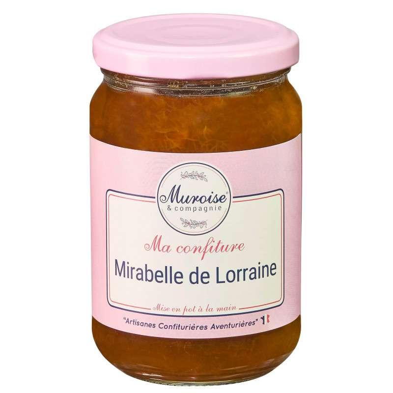 Confiture de mirabelle de Lorraine, Muroise (350 g)