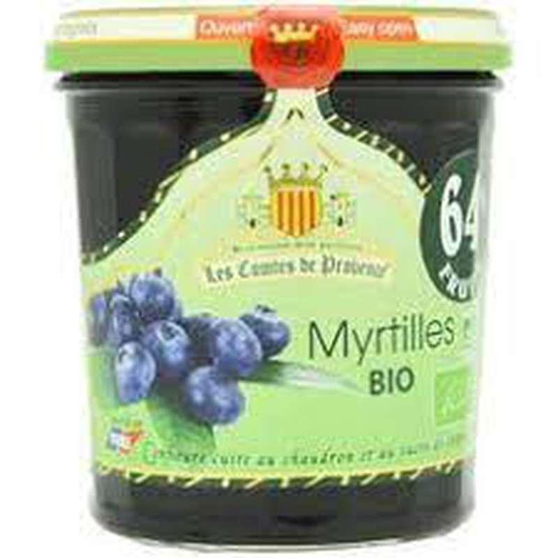 Confiture de myrtille BIO, Les Comtes de Provence (350 g)