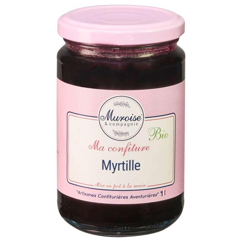 Confiture de myrtille BIO, Muroise (350 g)