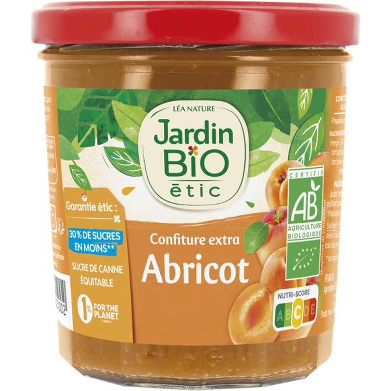 Confiture abricots BIO, Jardin Bio (320 g)