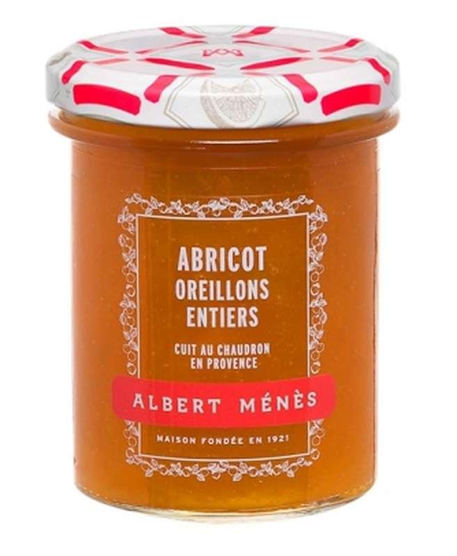 Confiture Extra d'Abricot Oreillons entiers, Albert Ménès (280 g)