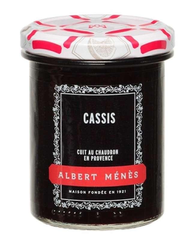 Confiture Extra de Cassis, Albert Ménès (280 g)