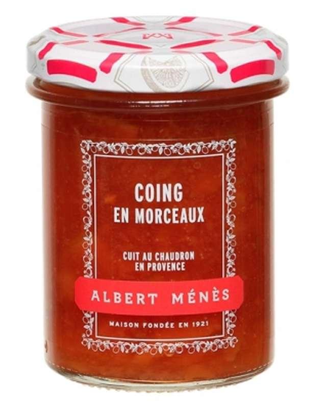 Confiture Extra de Coing en morceaux, Albert Ménès (280 g)