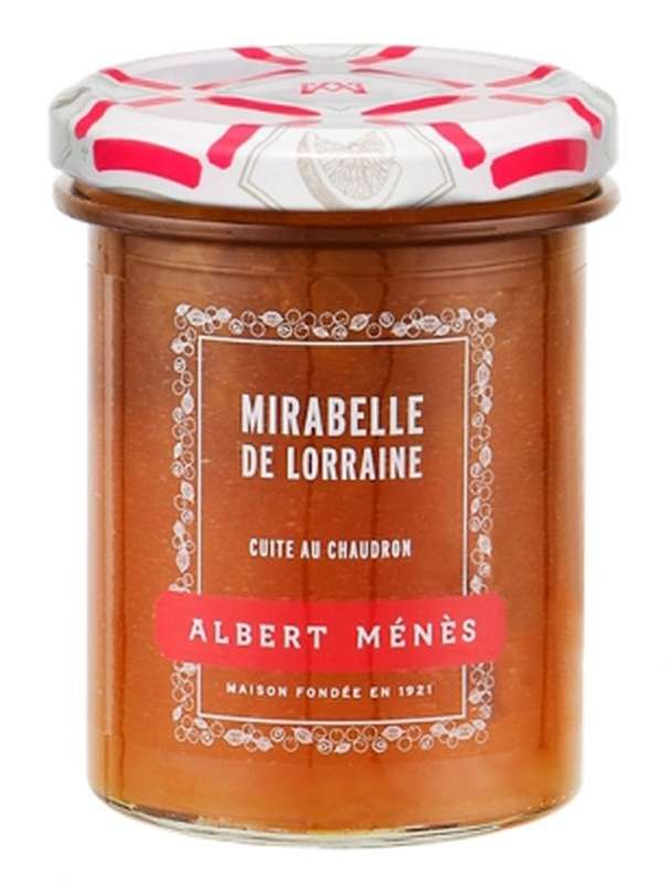Confiture Extra de Mirabelle de Lorraine, Albert Ménès (280 g)