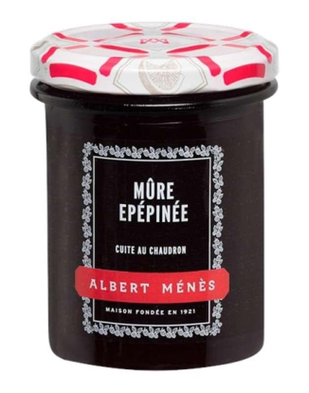 Confiture Extra de Mûre épépinée, Albert Ménès (280 g)