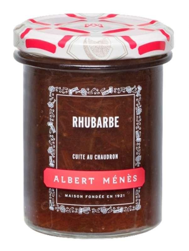 Confiture Extra de Rhubarbe, Albert Ménès (280 g)