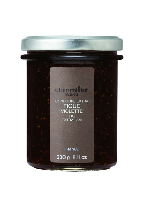 Confiture Extra Figue Violette, Alain Milliat (230 g)