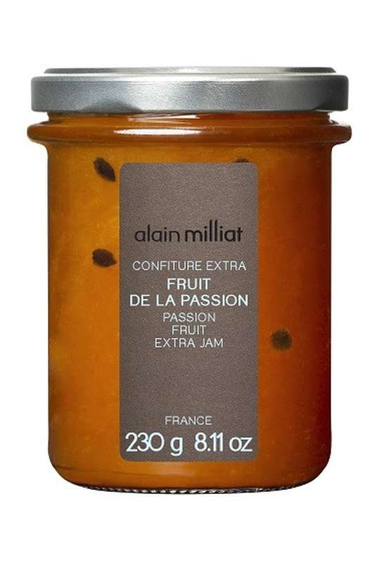 Confiture Extra Fruit de la Passion, Alain Milliat (230 g)
