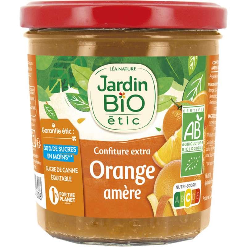 Confiture extra orange amère BIO, Jardin Bio (320 g)