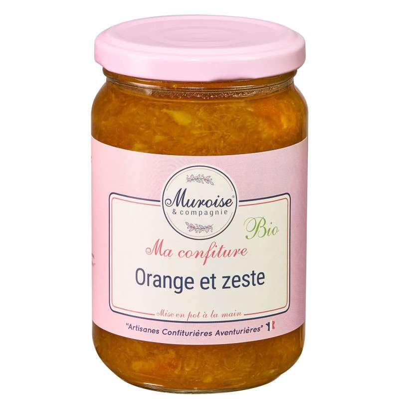 Confiture d'orange avec zestes BIO, Muroise (350 g)
