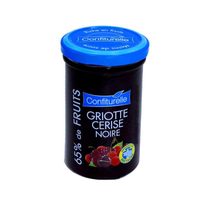 Confiturelle griotte et cerise noire, Les 4 saisons (300 g)