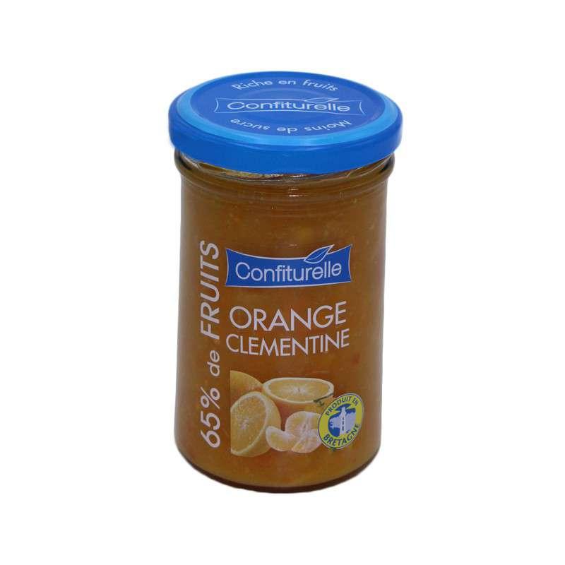 Confiturelle orange et clémentine de Corse, Les 4 saisons (300 g)