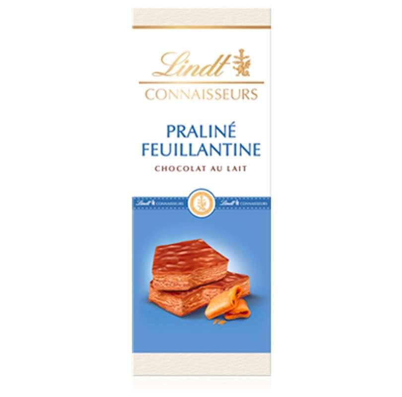 Chocolat au lait praliné feuillantine, Lindt (120 g)