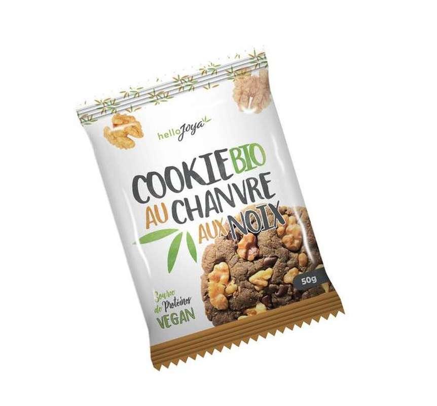 Cookie au chanvre aux Noix BIO Vegan, Hello Joya (50 g)