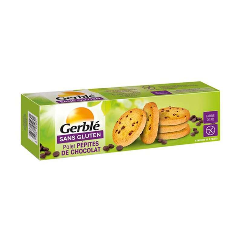 Cookies aux pépites chocolat sans gluten, Gerblé (150 g)