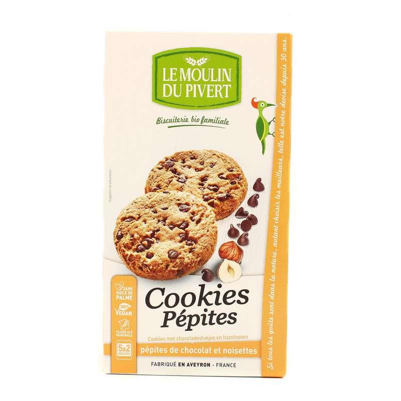 Cookies pépites BIO, Le Moulin du Pivert (175 g)