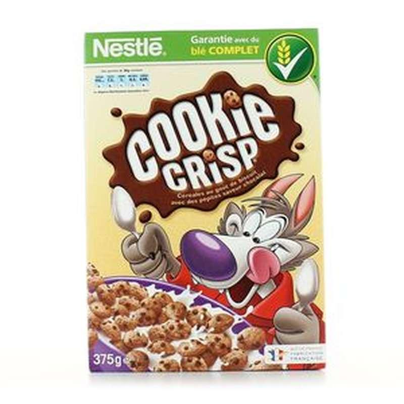 Céréales Cookies Crisp, Nestlé (375 g)
