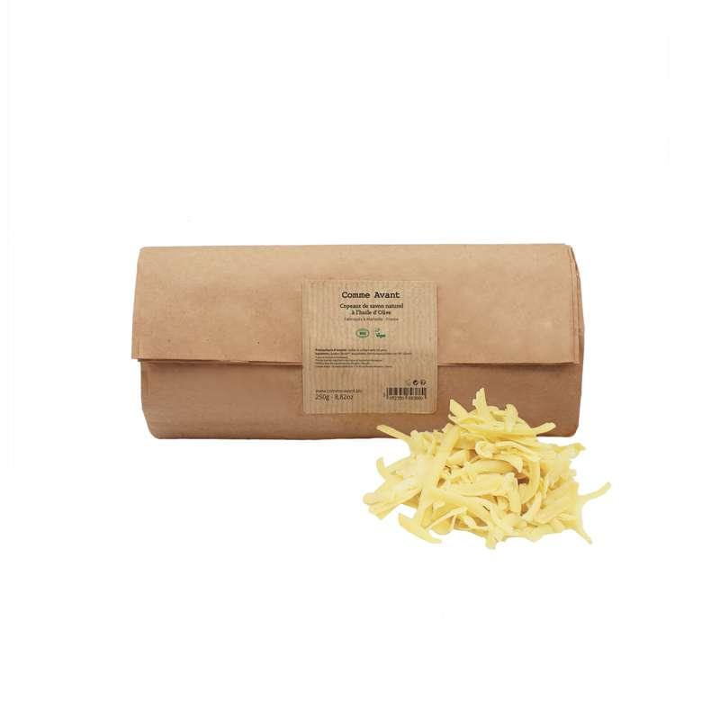 Copeaux de savon à l'huile d'olive BIO, Comme Avant (250 g)