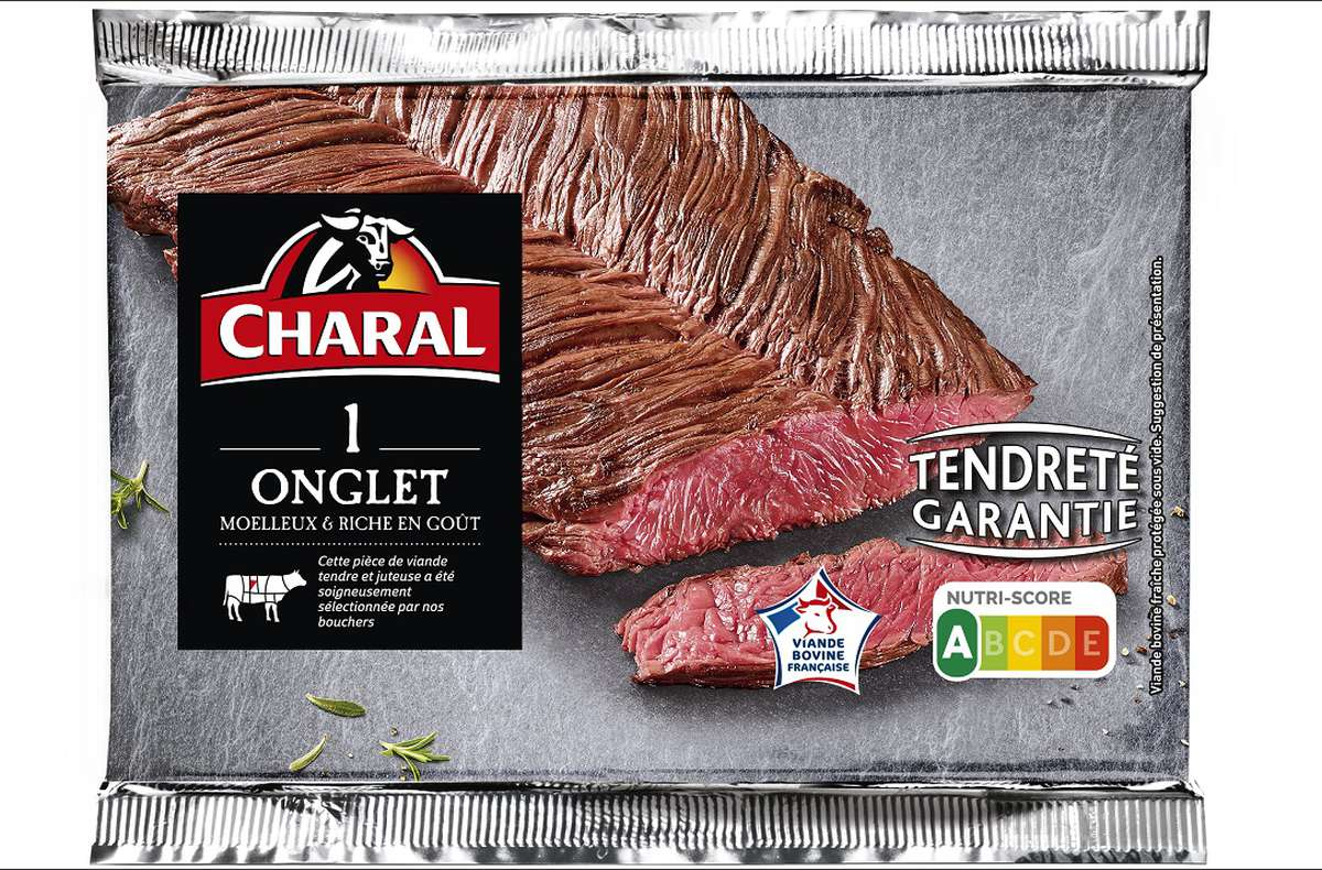 Onglet, Charal (x 1, 140 g)