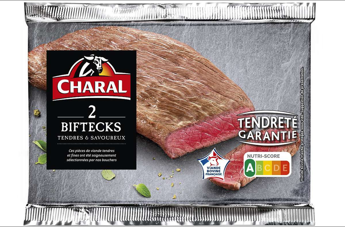 Bifteck, Charal (x 2, 260 g)