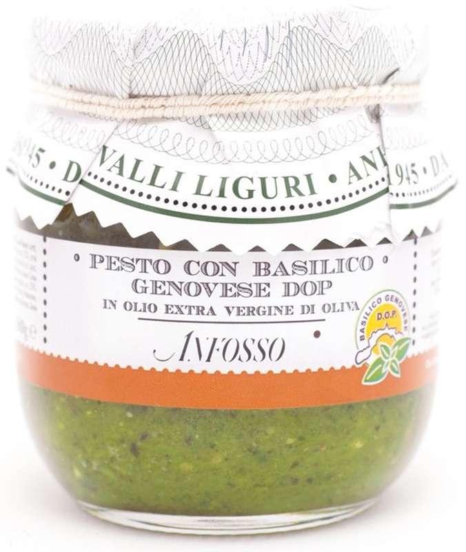 Pesto basilic Genovese, Anfosso (180 g)